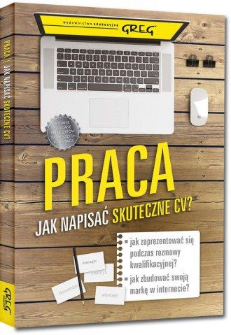 Praca Jak napisać skuteczne CV? - okładka książki