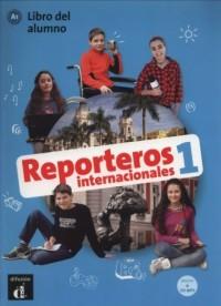 Reporteros internacionales 1 Libro del alumno (+ CD) - okładka podręcznika