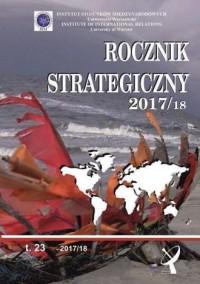 Rocznik strategiczny 2017/2018 - okładka książki