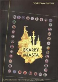 Skarby Miasta Warszawa 2017/18 - okładka książki