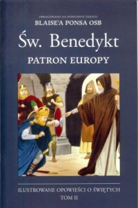 Św. Benedykt Patron Europy - okładka książki
