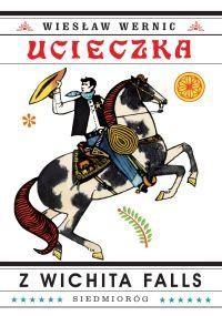 Ucieczka z Wichita Falls - okładka książki