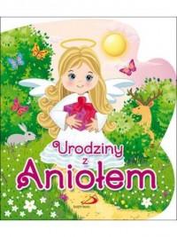 Urodziny z Aniołem - okładka książki