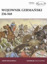 Wojownik germański 236-568 - Mark Harrison - okładka książki