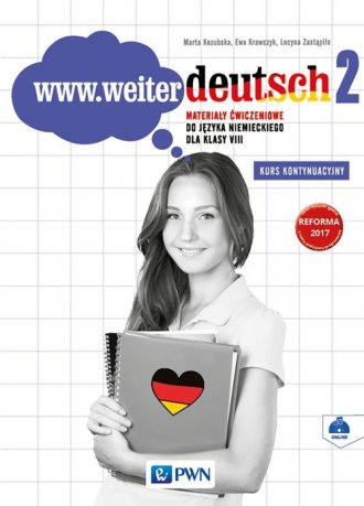 www.weiter deutsch 2. Szkoła podstawowa. - okładka podręcznika