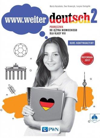 www.weiter.deutsch 2. Szkoła podstawowa. - okładka podręcznika