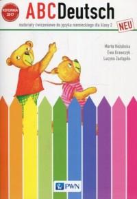 ABCDeutsch neu 2. Szkoła podstawowa. Materiały ćwiczeniowe do języka niemieckiego - okładka podręcznika
