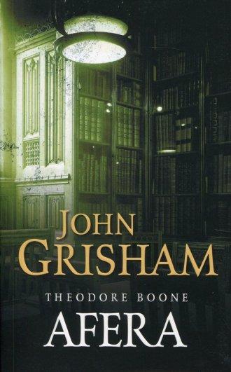 Afera. Theodore Boone - okładka książki