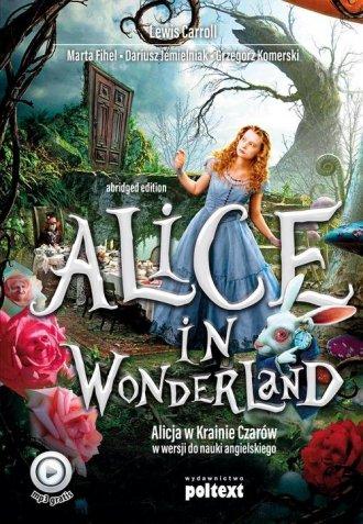 Alice in Wonderland. Alicja w Krainie - okładka podręcznika