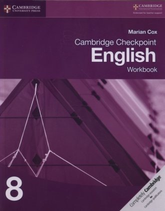 Cambridge Checkpoint English Workbook - okładka podręcznika