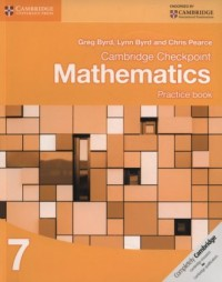 Cambridge Checkpoint Mathematics Practice Book 7 - okładka podręcznika