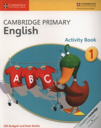 Cambridge Primary English Activity - okładka podręcznika