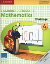 Cambridge Primary Mathematics Challenge 4 - okładka podręcznika