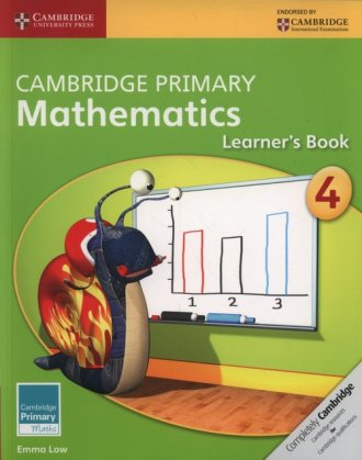 Cambridge Primary Mathematics Learner - okładka podręcznika