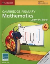Cambridge Primary Mathematics Learner s Book 4 - okładka podręcznika