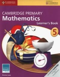 Cambridge Primary Mathematics Learners Book 5 - okładka podręcznika