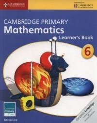 Cambridge Primary Mathematics Learners Book 6 - okładka podręcznika