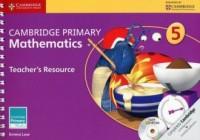 Cambridge Primary Mathematics Teachers Resource 5 - okładka podręcznika
