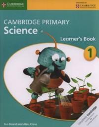 Cambridge Primary Science Learners Book 1 - okładka podręcznika