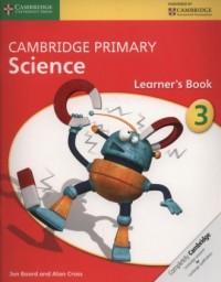 Cambridge Primary Science Learner?s Book 3 - okładka podręcznika