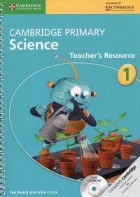 Cambridge Primary Science Teachers Resource 1 - okładka podręcznika