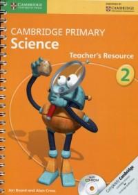 Cambridge Primary Science Teachers Resource 2 + CD-ROM - okładka podręcznika