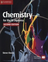 Chemistry for the IB Diploma Coursebook - okładka książki