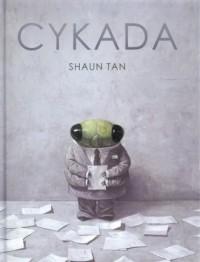 Cykada - okładka książki