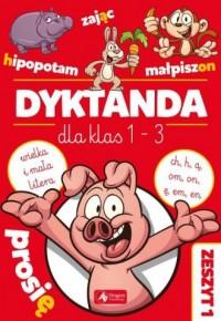 Dyktanda dla klas 1-3 - okładka podręcznika