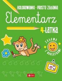 Elementarz 4-latka - okładka podręcznika