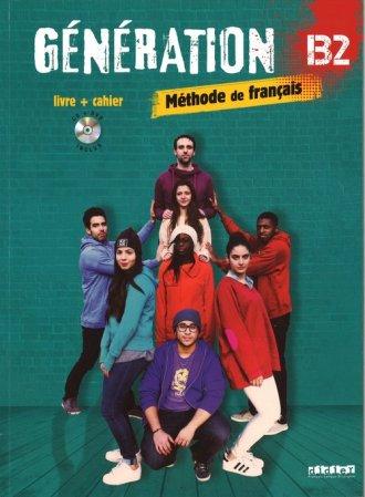 Generation B2 podręcznik +  ćwiczenia - okładka podręcznika