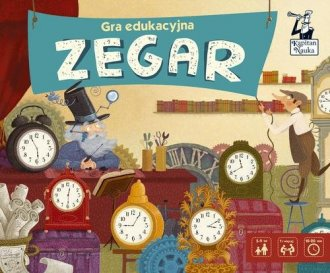 Gra edukacyjna Zegar - zdjęcie zabawki, gry