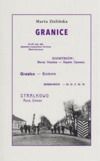 Granice - okładka książki