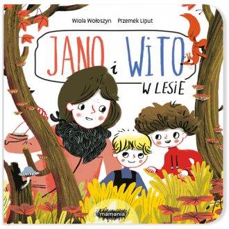 Jano i Wito. W lesie - okładka książki
