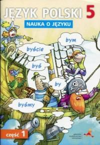 Język polski 5. Szkoła podstawowa. - okładka podręcznika
