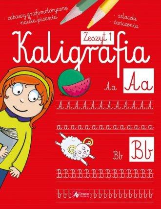 Kaligrafia. Zeszyt 1 - okładka podręcznika