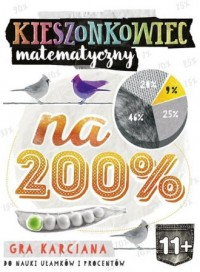 Kieszonkowiec matematyczny Na 200% (11+) - zdjęcie zabawki, gry
