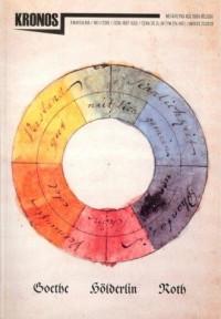 Kronos 1/2018 Goethe, Hölderlin, Roth - okładka książki