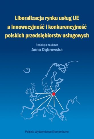 Liberalizacja rynku usług Unii - okładka książki