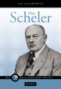 Max Scheler - okładka książki