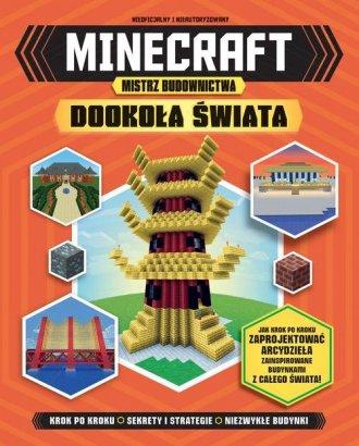 Minecraft Mistrz budownictwa Dookoła - okładka książki
