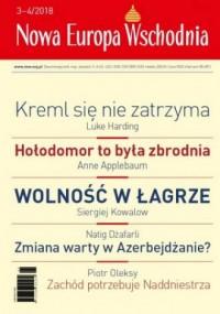 Nowa Europa Wschodnia nr 3-4/2018 - okładka książki