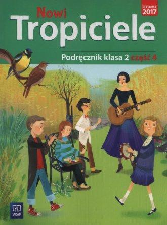 Nowi tropiciele 2. Szkoła podstawowa. - okładka podręcznika