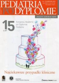 Pediatria po dyplomie. Najciekawsze przypadki kliniczne 1 (5) 2018 - okładka książki