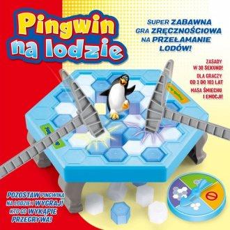 Pingwin na lodzie - zdjęcie zabawki, gry