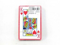 Playing card - okładka książki