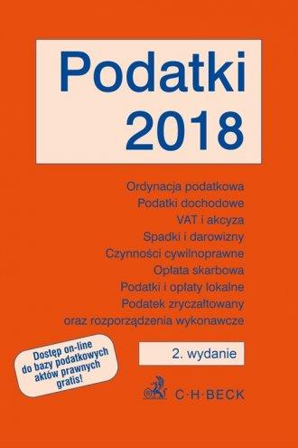 Podatki 2018 - okładka książki