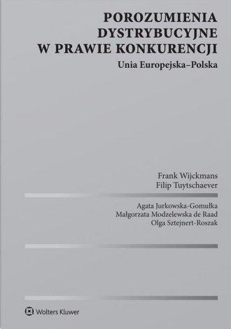 Porozumienia dystrybucyjne w prawie - okładka książki