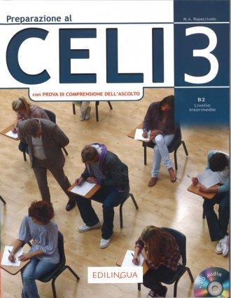 Preparazione al CELI 3 + CD - okładka podręcznika