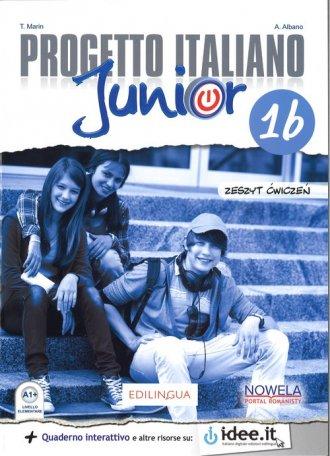 Progetto Italiano Junior 1B PW. - okładka podręcznika